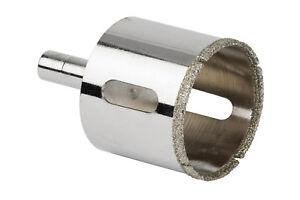 Punta trapano fresa diamantata 30 mm foro marmo ceramica vetro diamante 02119