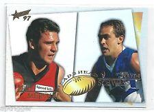 1997 Select Head to Head (H2H4) MERCURI Essendon & SCHWASS North Melbourne