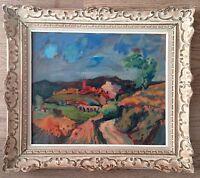 """Rare HSP de Martin Vivès(1905-1991), """"La Tour de France"""". Cézanne,Clavé,Dufy"""