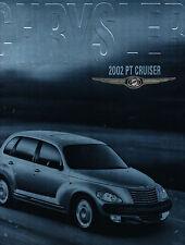 2002 Chrysler PT Cruiser 40-page Car Sales Brochure Catalog