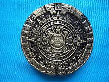 Ancient Aliens Mayan Calender Jeans Belt Buckle