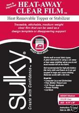 """Sulky Heat Away Film Embroidery Stabilizer! 20""""x25yd"""