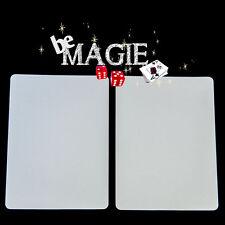 Carte Spéciale Bicycle - Double face blanche - Tour de magie