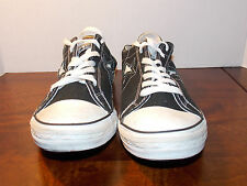 2000's Black One Star Canvas Low Coverse Men's Size 11 FREE SHIPPING (used)