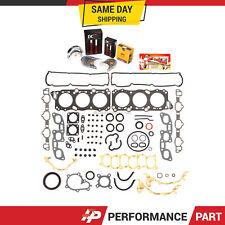 Fits 90-96 Nissan 300ZX Turbo Gaskets Rings Bearings VG30DE