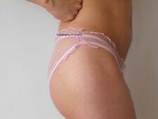 Slip Höschen Gaze Panty unisex ROSE ROSA Hauch von Nichts sheer transparent