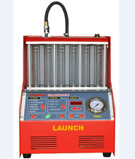 1PCS Launch Automotive 6-cylinder CNC602A FUEL Injector&Cleaner Tester English P
