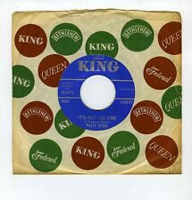 45 RPM SP PATTY RYAN IT'S NOT SO FINE/ I WISH THAT I COULD TELL HIM