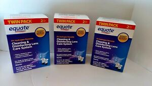 Equate Hydrogen Peroxide Cleaning & Disinfecting Lens Care System TwinPack, 2x12