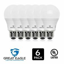 Great Eagle 100W Replacement Dimmable A19 LED Bulb, Warm White, 1500 Lms, 2700K