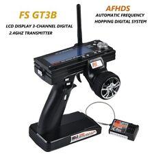 FlySky GT3B 2.4GHz Radio Control Digital LCD Transmisor & Receptor Coche RC Drone