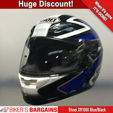 SHOEI XR-1000 BLUE/BLACK (XS) WAS £294.99 NOW £169.99