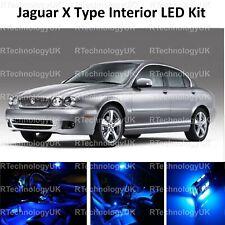BLUE PREMIUM JAGUAR X TYPE 2001-2009 ICE FULL LED INTERIOR UPGRADE KIT