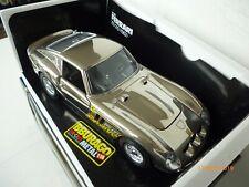 Ferrari 1/18 Burago 250 GTO  1962 in  chrome Very rare UNPLAYED IN BOX!!