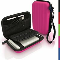 iGadgitz Pink EVA Hard Travel Carry Case Cover for New Nintendo 3DS XL All & 2DS