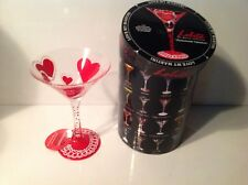 LOLITA Love My Martini HOMEMADE VALENTINE Martini Glass ~NEW In BOX~