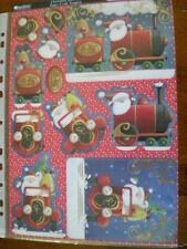 Beautiful Kanban Die Cut Christmas Toppers 'Christmas Delivery' (578) M