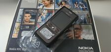 Nokia N91 - 8GB - Black (Unlocked) Smartphone Rare Boxed