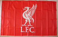 Liverpool FC Fahne L.F.C.Flag 91 cm x 152 cm Neu.Official Licensed Product 2 Öse