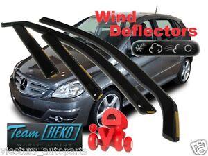 For MERCEDES B - Class W245  2005 - 2011 5.doors Wind deflectors 4.pc HEKO 23247