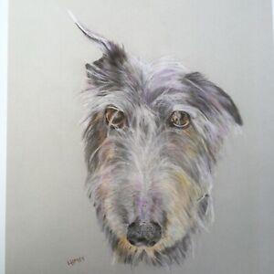 Lurcher Dog Art Prints, Fine Art  Giclee Digital Prints