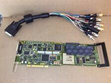 Matrox DSDTI/1 Digimix Digisuite Video Capture Editing PCI Card & Breakout Cable