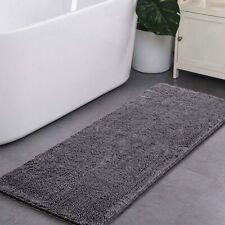 Luxury Bathroom Rug Shaggy Bath Mat, Washable Non Slip Bath Rugs Soft Plush Mats
