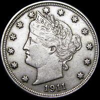 1911 Liberty V Nickel  ----  US Coin  ----  #H598