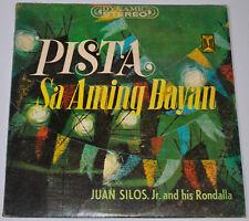 Philippines JUAN SILOS JR. & HIS RONDALLA Pista Sa Aming Bayan OPM LP Record