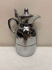 Vintage Alfi Thermal Coffee Tea Carafe Chrome Germany
