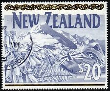 More details for new zealand 1994 $20 mount cook definitive fine used