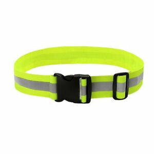 Reflective safety waist band hi vis sport cycle run walk