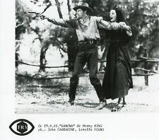 "LORETTA YOUNG JOHN CARRADINE ""RAMONA"" HENRY KING PHOTO DE PRESSE CINEMA CM"