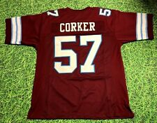 JOHN CORKER CUSTOM MICHIGAN PANTHERS JERSEY USFL
