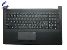 New HP 15-BS 15-CD 15-BS015DX 250 255 256 G6 Upper Case Palmrest Cover Keyboard
