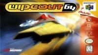 Wipeout 64 Nintendo 64 N64 Game Used