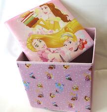 Disney Princess faltbarer Sitzhocker Spielzeugkiste Aufbewahrungsbox Rapunzel