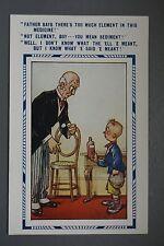 R&L Postcard: Comic, Bamforth 2265 Cheeky Boy Doctor Medicine