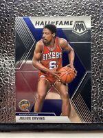Julius Erving 2019-20 panini mosaic basketball Hall Of Fame