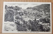 Postcard  Panorama View Of Jakko From Simla India  unposted .