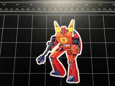 Transformers G1 Rodimus Prime box art vinyl decal sticker Autobot toy 1980's 80s