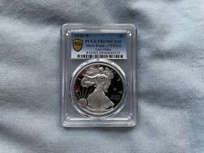 New Listing2020 W Silver American Eagle Coin V75 Privy End Ww2 Anniv First Strike Pcgs Pr69