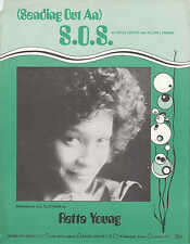 (Sending Out An) SOS - Retta Young - 1975 Sheet Music