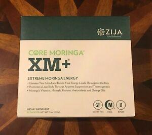 NEW ZIJA XM+ Core Moringa 32 sachets - 2022 Exp Date - FREE & Fast Shipping!