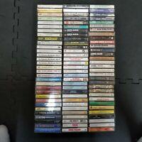 Cassette Tape Large Lot 93 Mixed Genre