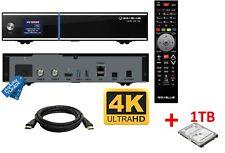 GigaBlue UHD UE 4k 2x Dvb-s2 Tuner Ultra HD E2 Linux Receiver