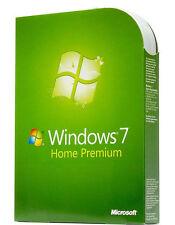 Microsoft Windows 7 und Home Premium Computer-Betriebssysteme als DVD