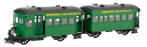 Bachmann 28457 On30 Greenbrier & Big Run Lumber Railbus & Trailer EXC!