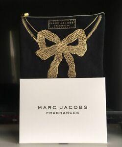 """Designer Marc Jacobs Fragrances Toiletry/Makeup Bag Pouch - NIB - 8.5"""" x 6.5"""""""