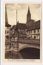 strasbourg , pont du corbeau et rue du vieux-marché-aux-poissons